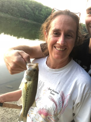 Mom Fishing